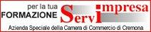 Per la tua formazione Servimpresa, Azienda speciale della Camera di commercio di Cremona
